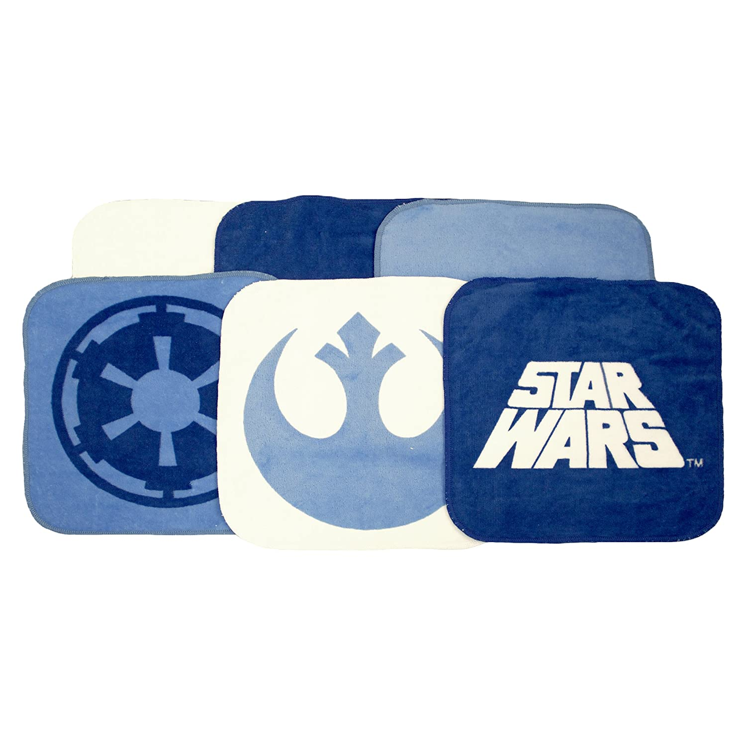 Jay Franco Star Wars Classic Saga 6 Piece Cotton Wash Set Jay Franco and Sons Inc. JF32138WMFL