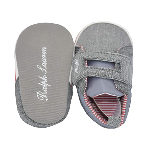 Baby Bucket Pre-Walker Sandal Shoes Light Weight Soft Sole Booties Sandal (Grey 5-10 Months)