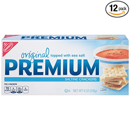 PREMIUM Rounds Original galletas saladas.: Amazon.com ...