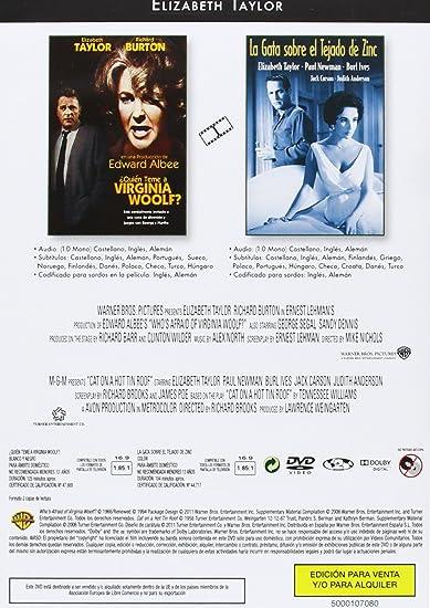 Amazon.com: Elizabeth Taylor Pack: Mujercitas - El padre de la novia - El padre es abuelo - Gigante - El árbol de la vida - La gata sobre el tejado de zinc ...