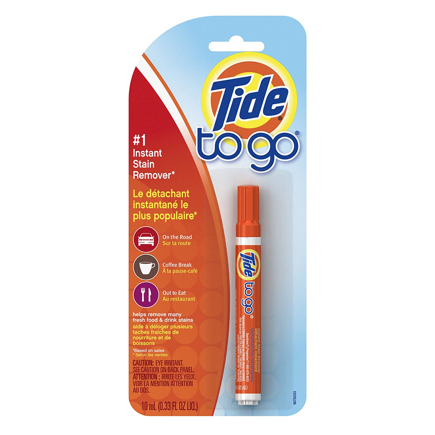 Tide To Go Instant Stain Remover, 1 count