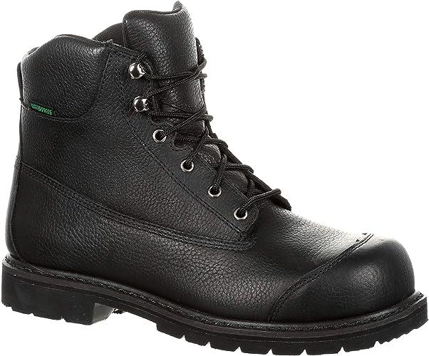 Amazon.com: Lehigh Quickfit Collection Zapatos de seguridad ...