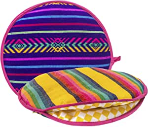 Amazon.com: Authentic Mexican Cloth Tortilla Holder Warmer