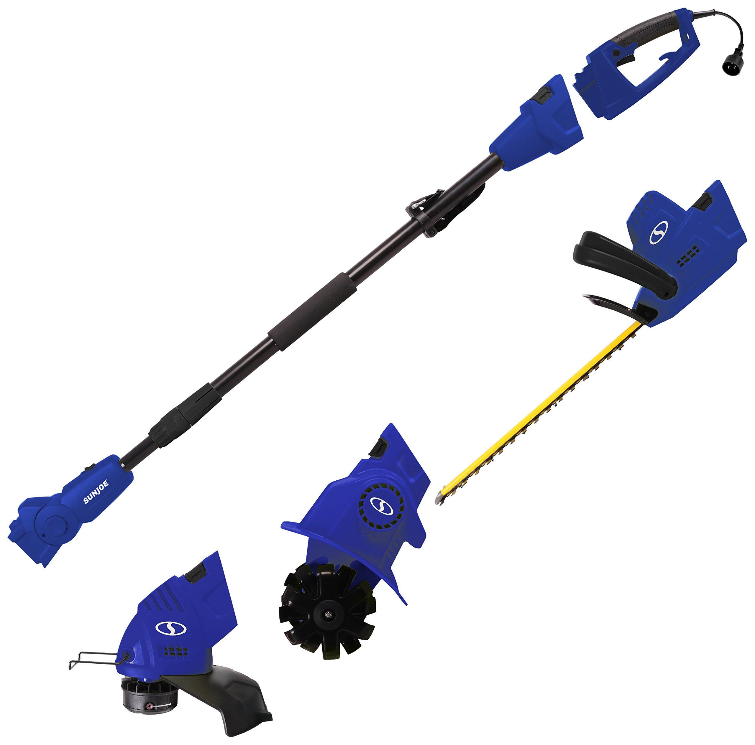 Sun Joe GTS4000E-SJB Lawn + Garden Multi-Tool Care System, Blue