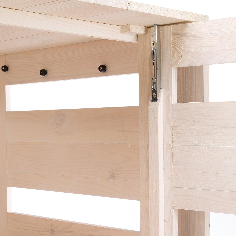 Ferplast Perro cámara Interior de caseta para Perro Mediano Gris 84 x 57 x 63 cm: Amazon.es: Productos para mascotas