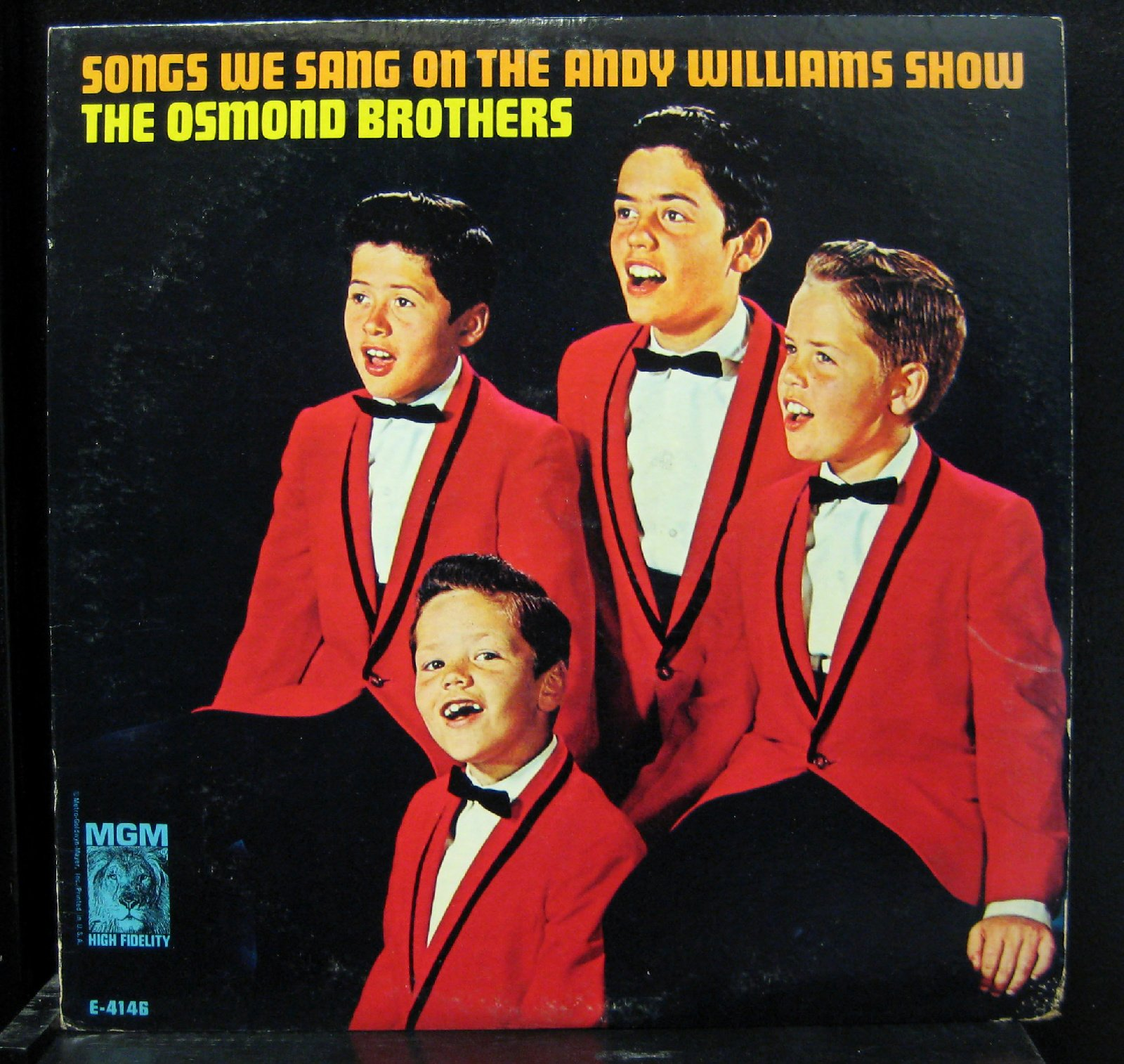 The Osmond Brothers - Songs We Sang On The Andy Williams Show - Lp Vinyl Record