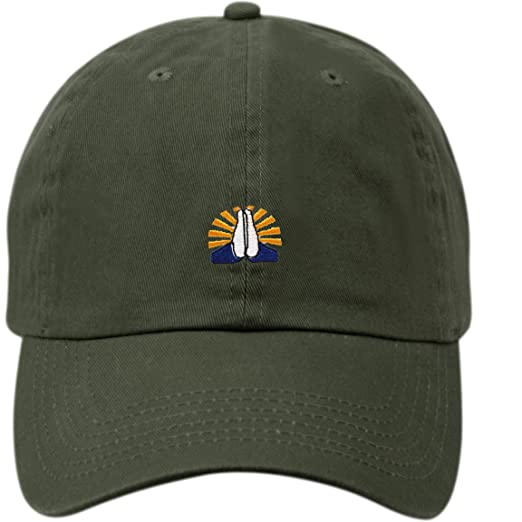 86d67232ee5 Praying Hands Unstructured Adjustable Baseball Dad Cap for Men and Women  (Polo Style) (