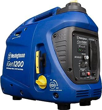 Amazon.com: Westinghouse iGen1200 Super tranquilo inversor ...