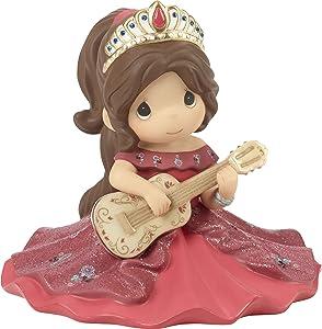Precious Moments Disney Showcase Make Your Own Music Princess Elena Bisque Porcelain Figurine 182094
