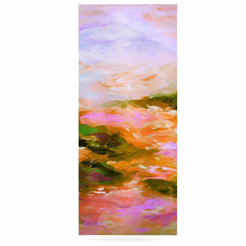 Kess InHouse EBI Emporium Taken by The Undertow 2 Pink Orange Luxe Rectangle Panel 24 x 36