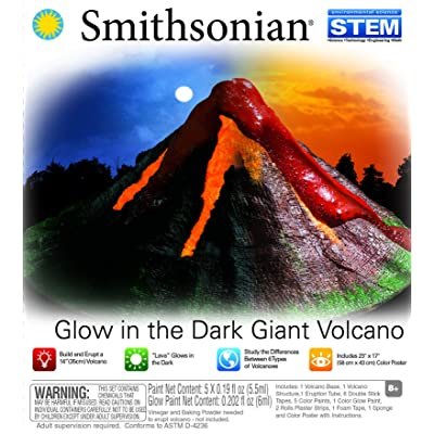 NSI Smithsonian Giant Volcano Kit: Toys & Games