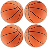Mini Rubber 7 Basketballs 4-Pack by PlayTime