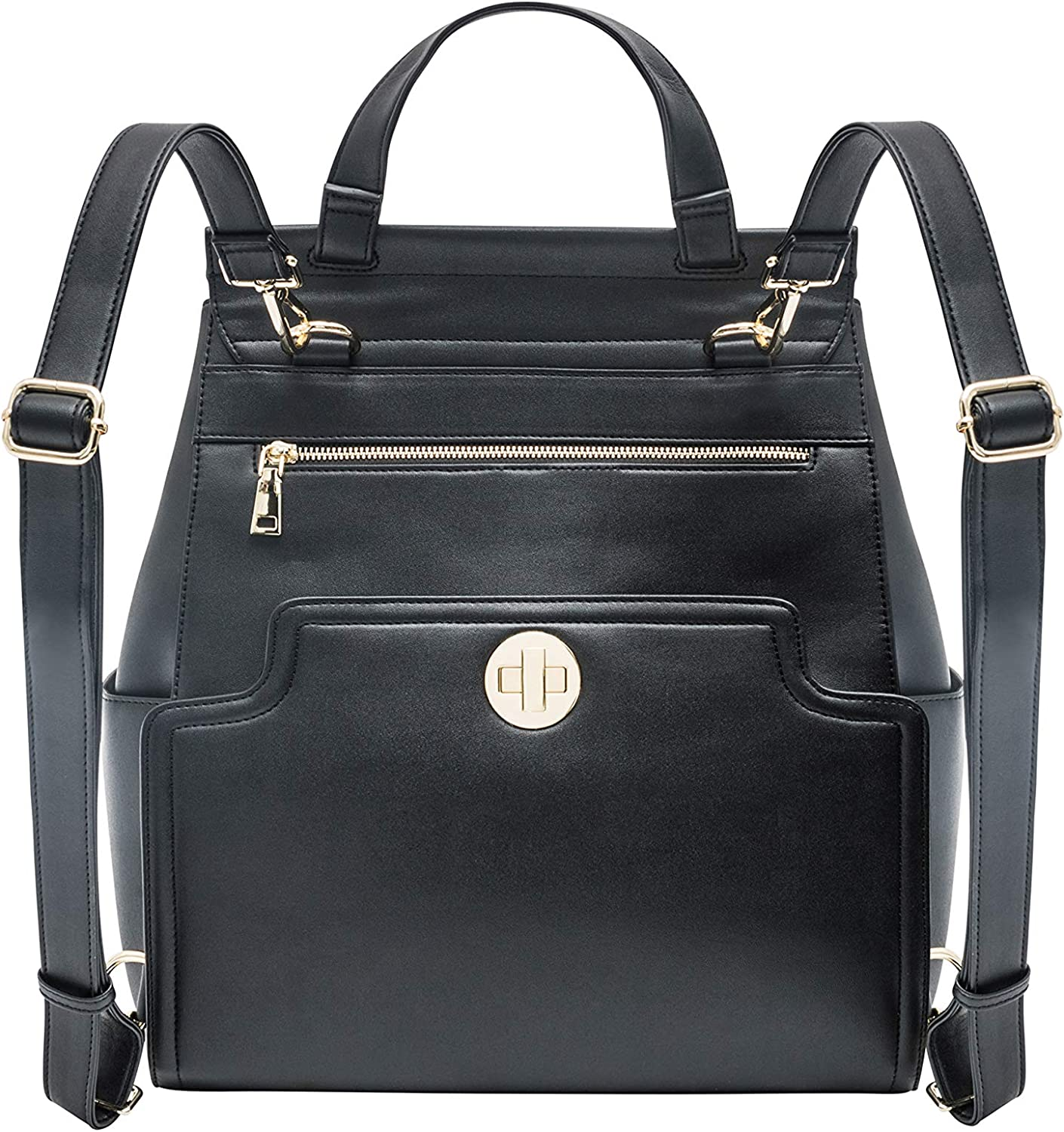 EVA Backpack with the worlds First ever changing pad integrated on the exterior for easy access Get yours now! Chic versatile BRELOKQ Diaper Bag Backpack made of Premium Vegan Leather practical