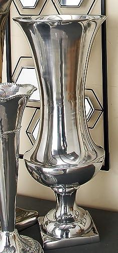 Deco 79 Aluminium Flower Vase, 9 by 21-Inch