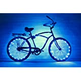 (2 Pack) GlowRiders - Ultra Bright LED - Bike Wheel Light String - Assorted Colors Bicycle Tire Accessories- Burning Man Accessory Christmas Gift
