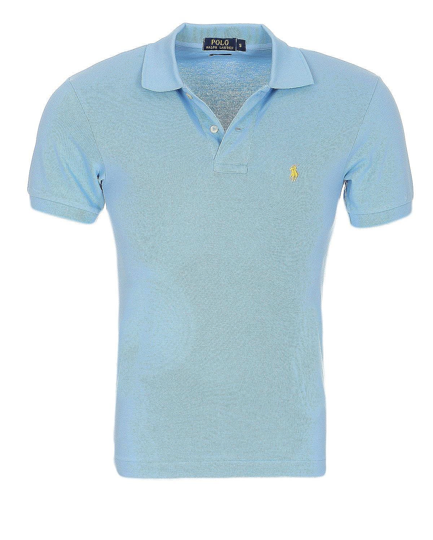 Ralph Lauren Polo Homme Petit Poney Custom Fit S-M-L-XL-XXL  Amazon.fr   Vêtements et accessoires fec8c316baa4