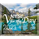 Image for Verse for the Day Bible Verse Calendar 2021 with KJV Scripture - 365 Daily Desk Calendar