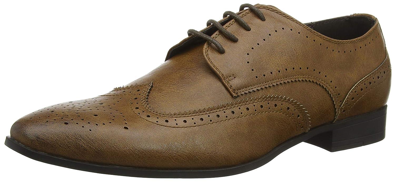 TALLA 44 EU. New Look 5746650, Zapatos de Cordones Brogue para Hombre