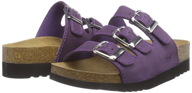 Scholl Rio Wedge Ad Dk Purple Womens Sandals Purple dk Purple 85  UK 42 EU Amazoncouk Shoes  Bags