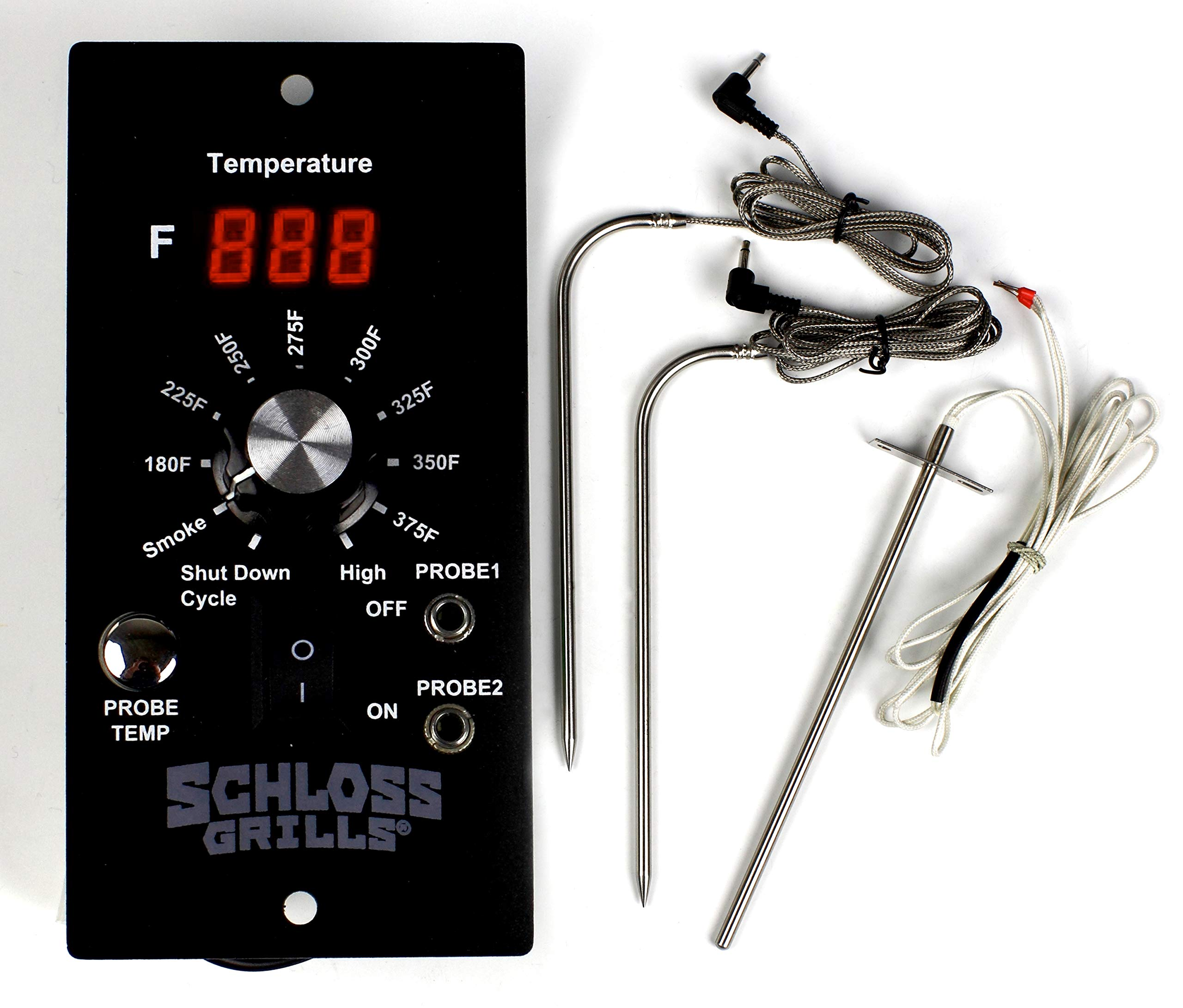 Replacement Digital Pro Controller with Meat Probes for Pit Boss Wood Pellet Grills