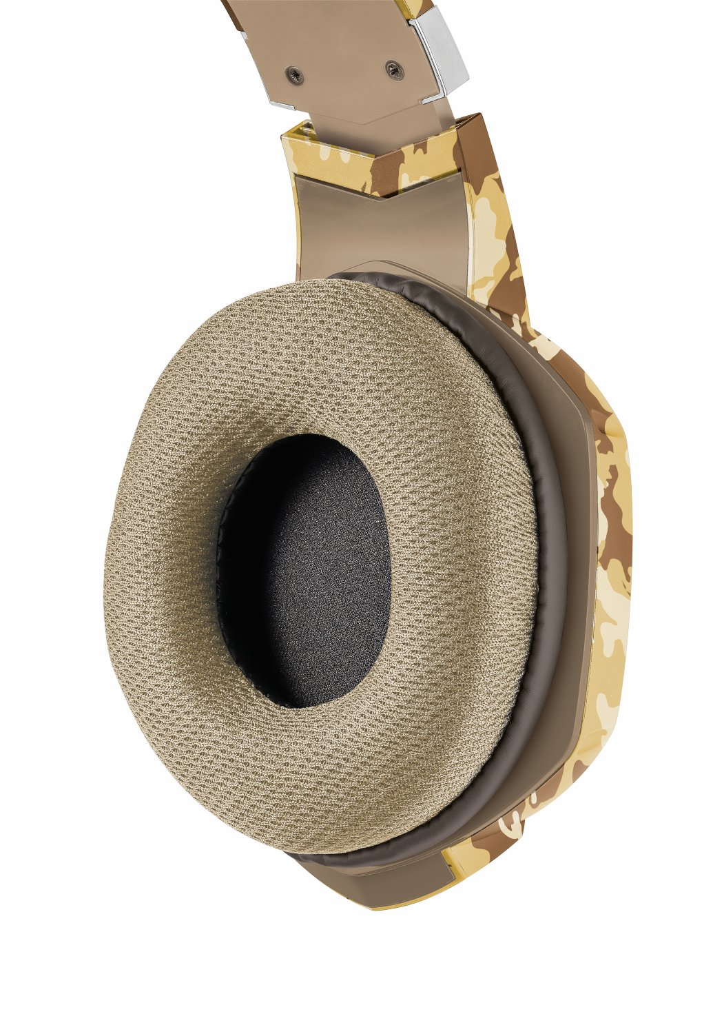 Trust Gaming GXT 322D Carus - Auriculares Gaming Stereo para PC, Color Desierto Camuflaje: Amazon.es: Informática