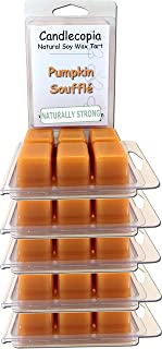 product image for Candlecopia Pumpkin Soufflé Strongly Scented Hand Poured Vegan Wax Melts, 36 Scented Wax Cubes, 19.2 Ounces in 6 x 6-Packs
