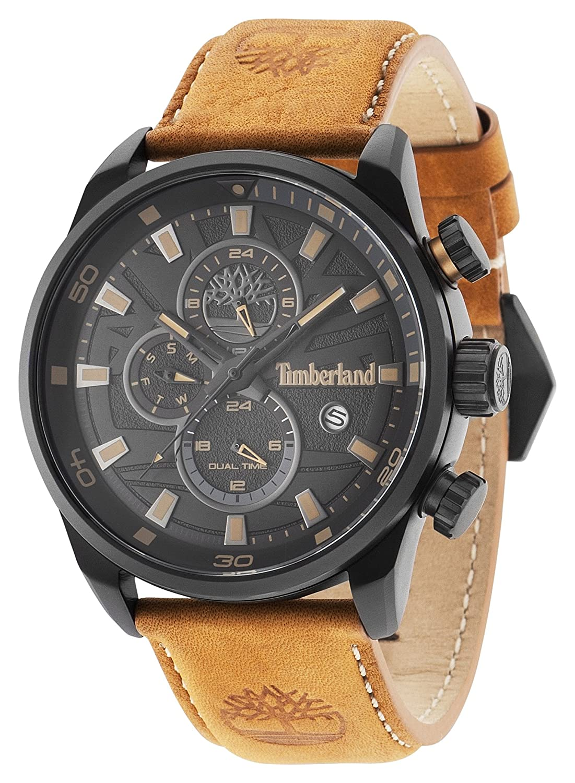 Timberland Herren-Armbanduhr Henniker II Analog Quarz 14816JLB-02