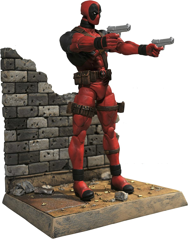"Marvel Select X-men Deadpool Wade Wilson 7/"" Statue Action Figure Figurine NO BOX"