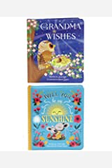 2 Pack of Children's Books: Grandma Wishes and Will You Be My Sunshine Board book