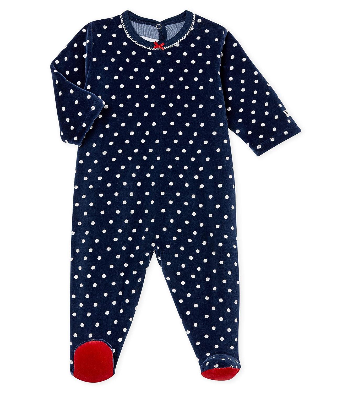 Petit Bateau Baby-M/ädchen Lot Balein Schlafstrampler