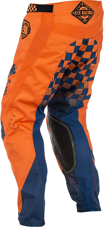 Fly Racing Cross Hose Kinetic Era Orange Navy Sport Freizeit