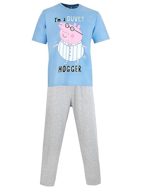 Peppa Pig del pijama para Hombre Papa Pig Small