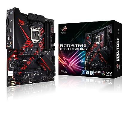 Asus Intel B360 ATX - Placa base gaming con Aura Sync RGB iluminación LED, pre