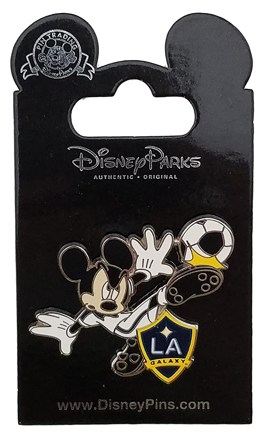 Disney Pin - Mickey Soccer Teams - Galaxy