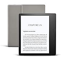 Kindle Oasis, Maintenant avec température d'éclairage ajustable, Résistant à l'eau, 8 Go Wi-Fi, Graphite
