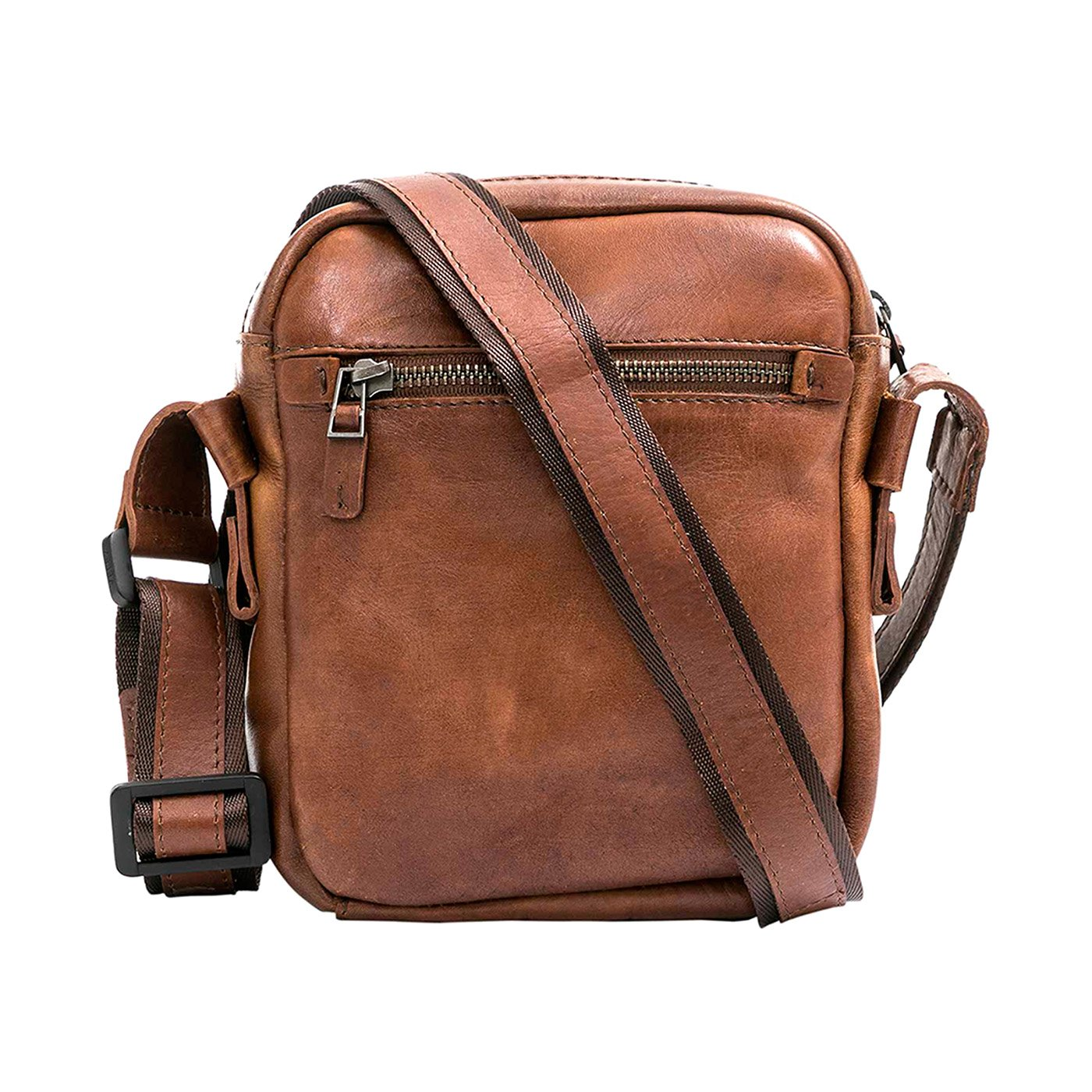Amazon.com: VÉLEZ Men Genuine Leather Crossbody Bag | Bandolera De Cuero Bicolor: Shoes