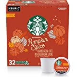 Starbucks Flavored K-Cup Coffee Pods Pumpkin Spice for Keurig Brewers 32 Count (Pack of 1)