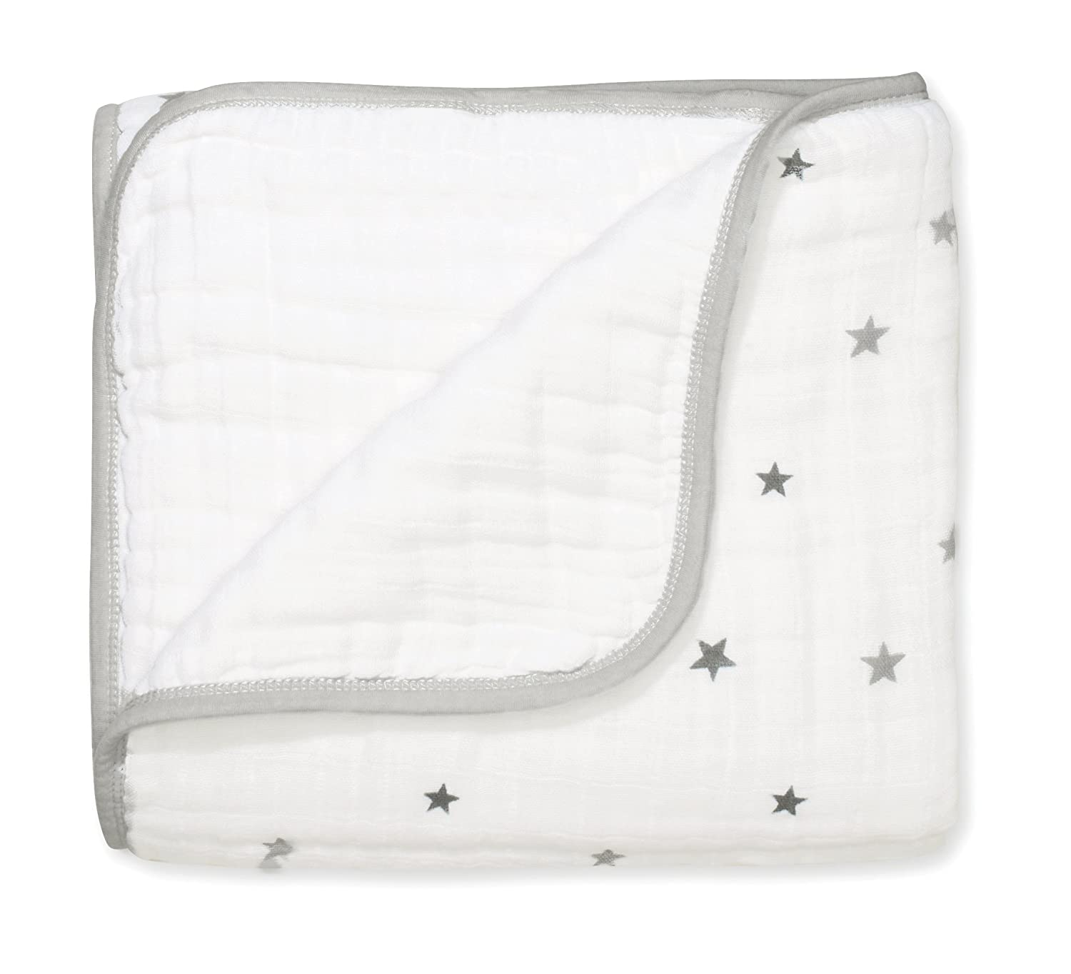 aden + anais dream blanket, 4 layers 100% cotton muslin, 120cm X 120cm, twinkle aden+anais 6038G