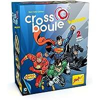 Noris Spiele Zoch 601105089–Cross Boule, Heroes Batman Vs Superman de Jeu, Multicolore