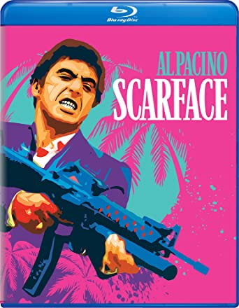 Poster of Scarface 1983 Full Hindi Dual Audio Movie Download BluRay 720p