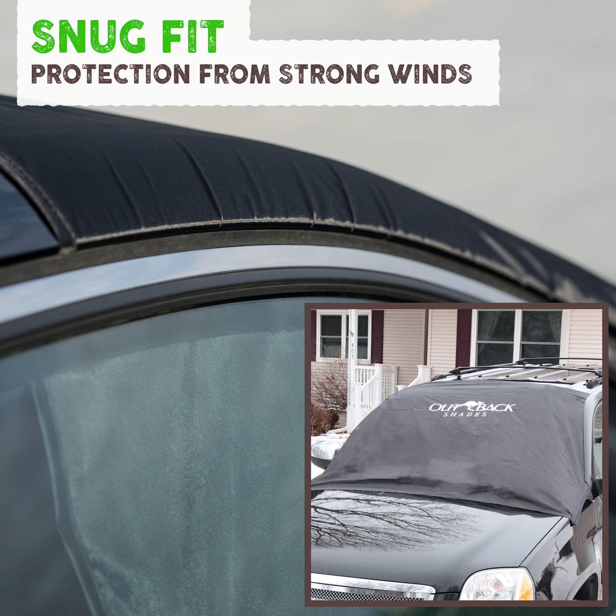 Frost Blocker Wipers Pickup Truck Covers Windshield Protector Truck Accessories icescreen Snow Cover