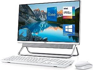 "Dell Inspiron 5400 All in One Desktop Computer, 23.8"" FHD Touchscreen, Intel 11th Gen i5-1135G7 Upto 4.2GHz, 16GB RAM, 2TB SSD, Webcam, HDMI, SD-Card, USB Type-C - Windows 10 Pro"