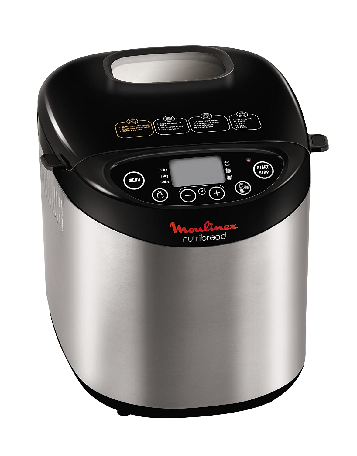 Moulinex OW311E10 Nutribread - Máquina para hacer pan, color ...