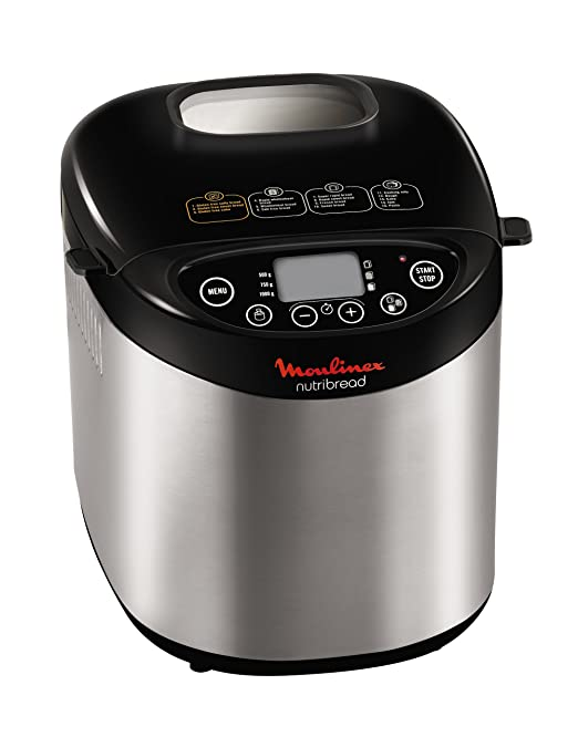 Moulinex OW311E10 Nutribread - Máquina para hacer pan, color negro ...