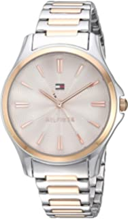 9dc9c0488 Tommy Hilfiger Women's Quartz Watch with Two-Tone-Stainless-Steel Strap, 14