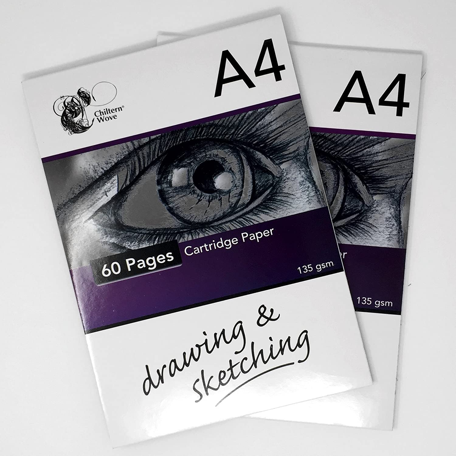 135gsm Cartridge Paper/2 Packs of 60 pages 151