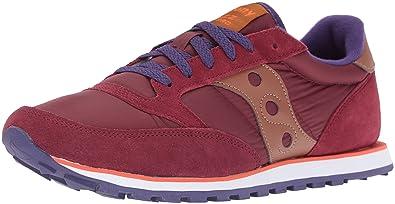Saucony Originals Men's Jazz Lowpro Fashion Sneakers, Wine, ...