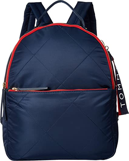 018ad3604 Tommy Hilfiger Women's Kensington Quilt Nylon Backpack Tommy Navy One Size