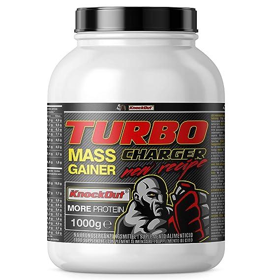 Turbo Charger Weight Gainer, proteínas e hidratos de carbono, la masa muscular y el
