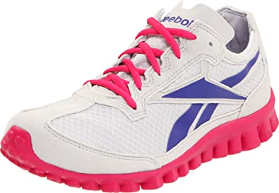 Reebok RealFlex Run Running Shoe (Little KidBig Kid),Overtly Pink